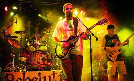 Rebelution Featuring the Wailers at the Congress Theater on Sat., Mar. 24 at 7:30PM - Rebelution featuring The Wailers in Chicago
