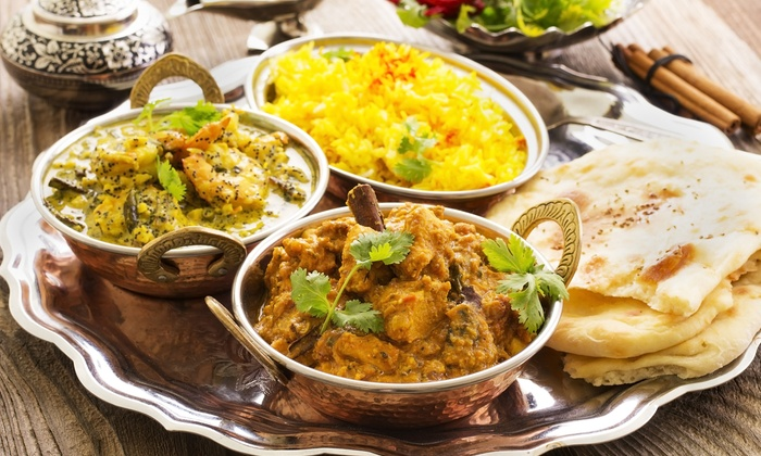 Taj Bistro - City Center: Indian Cuisine for Lunch or Dinner for Two or Four at Taj Bistro (Up to 50% Off)