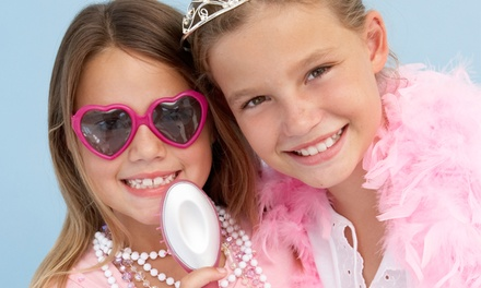 1 or 2 Mani-Pedis, or Mommy-and-Me Movie Spa Package at Nail Talk Kids Spa (Up to 73% Off)