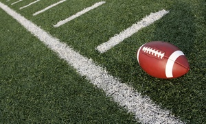 EXLR8 Sports: 1 or 2Groupons, Each Good for aSaturday NFL Play 60 FUNdamentals Campfor 2Children from EXLR8 Sports (50% Off)