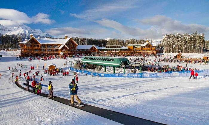 Lake Louise Ski Resort - Lake Louise Summer Gondola: Winter Activities at Lake Louise Ski Resort (50% Off). Eight Options Available.