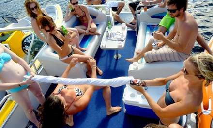 Two- or Four-Hour BYOB Pontoon Boat Cruise for Up to Six from Watersports of Miami (Up to 51% Off)
