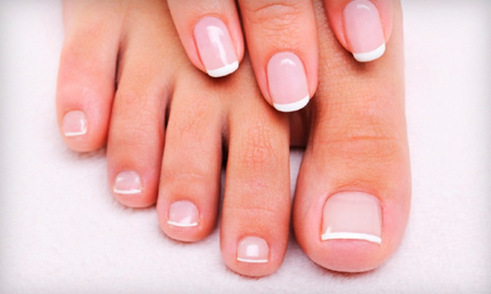 J's Nail & Spa at Earl's For Hair - St Louis: One or Two Spa Mani-Pedis at J's Nail & Spa at Earl's For Hair (Up to 55% Off)