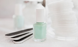 The Art Of Beauty: One or Two Groupons, Each Good for One Manicure and Spa Pedicure at The Art Of Beauty (Up to 55% Off)