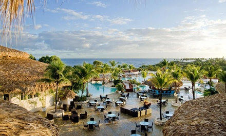 All-Inclusive VIP Stay at Cofresi Palm Beach & Spa Resort in Dominican Republic. Includes Taxes & Fees. Dates into May.