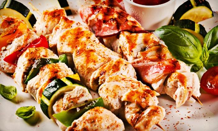 Shish Kabob Express - Herndon: Mediterranean Buffet or Kebab Meal for Two or Four at Shish Kabob Express (Up to 56% Off)