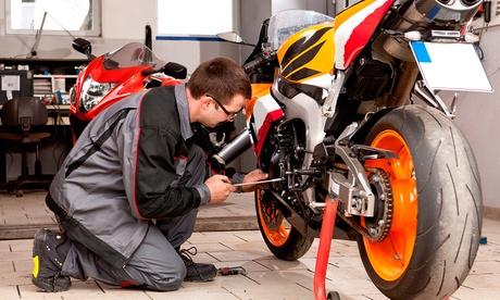 Cambio de aceite y filtro y lavado a mano para motos desde 19,95 €