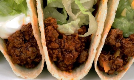 Burrito Meal for Two or Four or $5 for $10 Worth of Fast Mexican Food at Taco Time Victoria