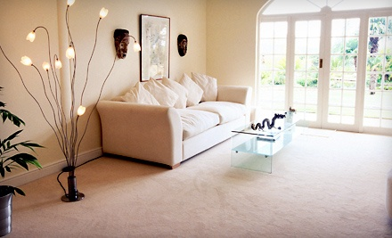 Carpet Cleaning for 3 or 5 Rooms and a Hallway from FiberTech Carpet Care (Up to 61% Off)