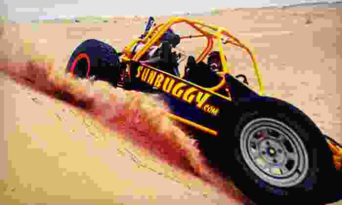 Sun Buggy Fun Rentals - Clark: Ride-Along or Guided-Drive Dune-Buggy Experience at Sun Buggy Fun Rentals (Up to 60% Off)