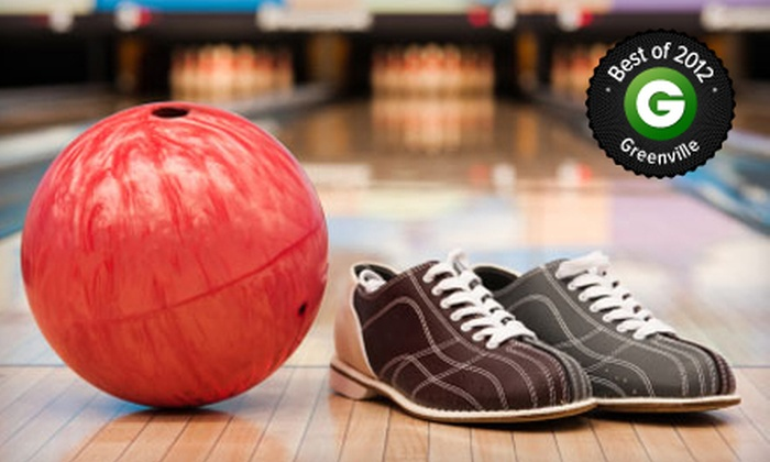 Wade Hampton Lanes - Wade Hampton: $29 for Two Hours of Bowling, a Pitcher of Soda, and Shoe Rental for Six at Wade Hampton Lanes ($59.99 Value)