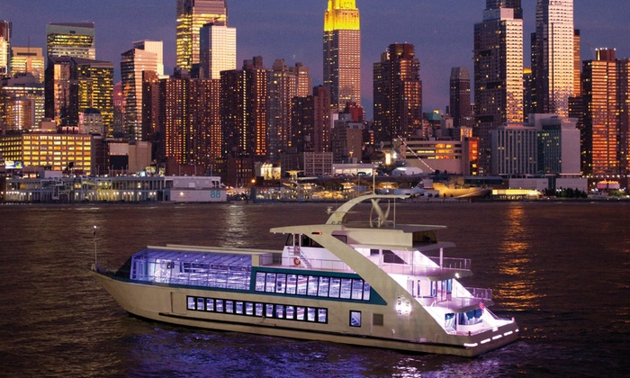 Hornblower Cruises & Events - Pier 15: Luxury Yacht Cruise Package for Two or Four from Hornblower Cruises (Up to 51% Off)