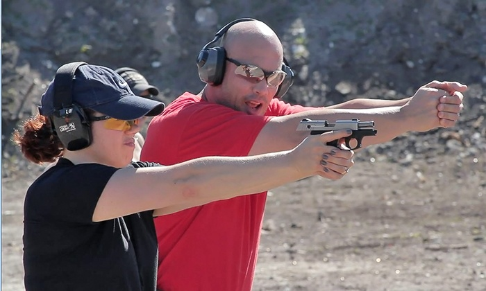 Tactical U Firearms Training & Self-Defense - Multiple Locations: Firearms Course from Tactical U Firearms Training & Self-Defense (Up to 48% Off). Three Options Available.