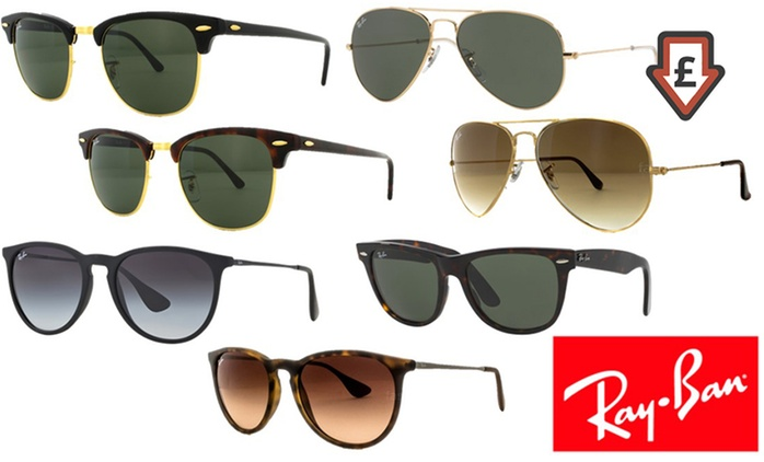 Ray-Ban Sunglasses from £69.98 With Free Delivery