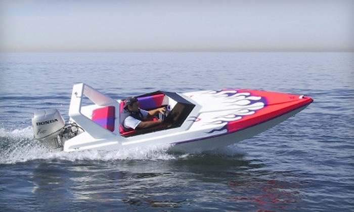 Harbourfront Centre Sailing and Powerboating - Downtown Toronto: C$69 for a Two-Hour Mini-Powerboat Rental from Harbourfront Centre Sailing and Powerboating (C$155.94 Value)