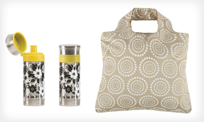 Envirosax Reusable Bag Bundles: Two Envirosax Slingsax or a Water Bottle and Bag (Up to 61% Off). Seven Options Available. Free Shipping and Returns.