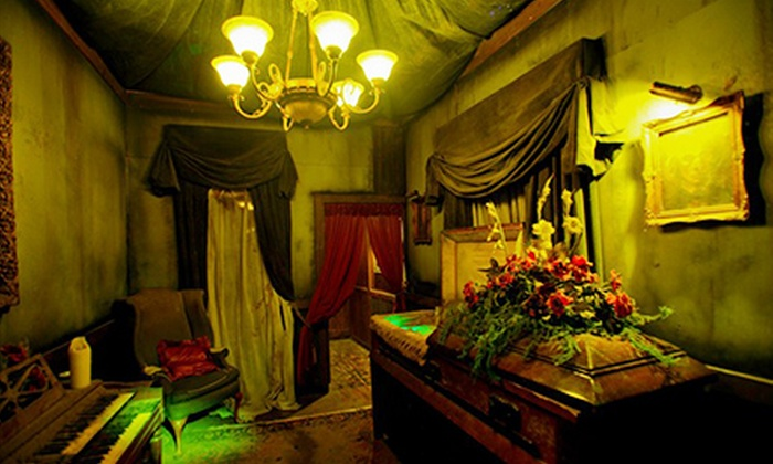 ... 43% Off VIP Haunted House Visit