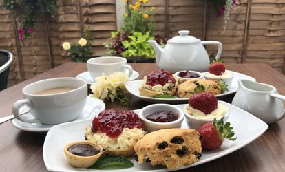 Cream Tea for Two or Four at Evergreen Cafe At Carpenders Park Garden Centre (50% Off)