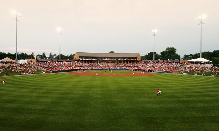 Frederick Keys - Nymeo Field at Harry Grove Stadium: $20 for Two Tickets and One Hat to a Frederick Keys Home Game at Harry Grove Stadium (Up to $44 Value)