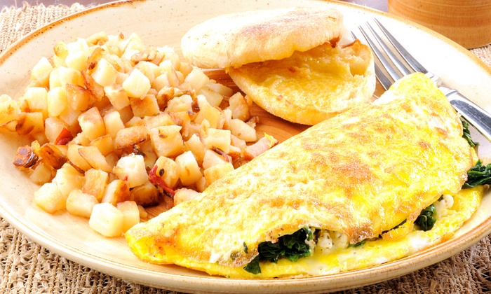 Mozart Cafe - Boca Del Mar: Kosher Breakfast at Mozart Cafe (Up to 55% Off). Two Options Available.