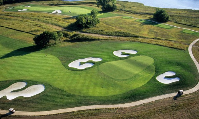 The Golf Club at Creekmoor - Raymore: Round of Golf with Cart and Range Balls at The Golf Club at Creekmoor (Up to 51% Off). Two Options Available.