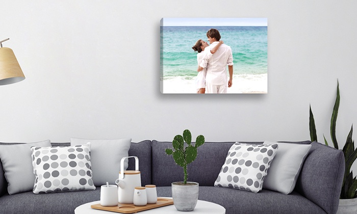 Lieblingsfoto: Individueller Fotodruck auf Leinwand im Format nach Wahl von Lieblingsfoto.de (bis zu 63% sparen*)