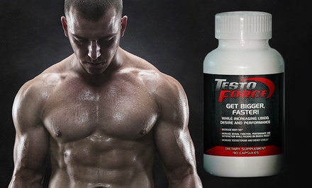 groupon daily deal - 90-Count TestoForce Dietary Supplement