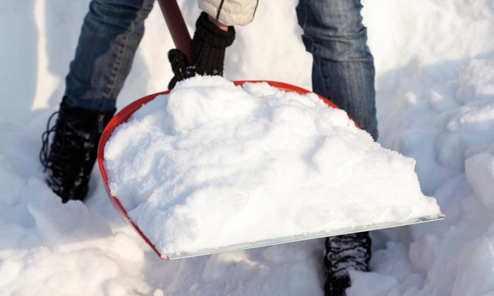 Snowcaddies Inc - North Jersey: Two Visits for Snow Removal at SnowCaddies Inc.