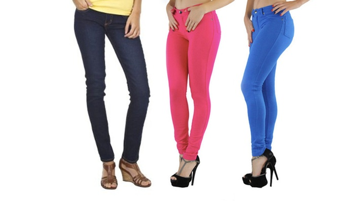 Dinamit Skinny Jeggings: Dinamit Skinny Jeggings. Multiple Options Available. Free Returns.