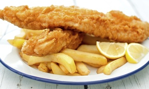 The Ashvale: Fish and Chips with Sides for Two at The Ashvale, Choice of Locations (Up to 44% Off)