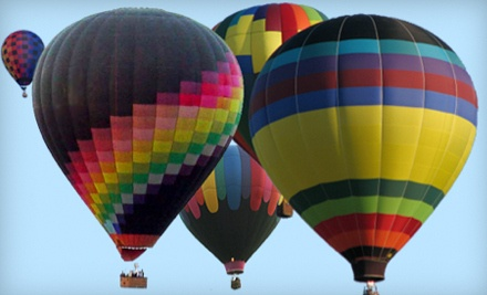 Hot Air Balloon Experience for 1 ($320 value) - Airbus Balloon Rides in Bloomington