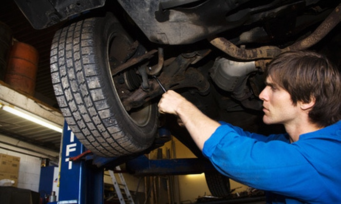 Dulles Automotive Service Center - Dulles: VA State Inspection and Emissions Test with Option for Oil Change at Dulles Automotive Service Center (Up to 51% Off)