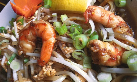 Thai Food for Dinner or Lunch at Sawatdee St. Paul (47% Off)