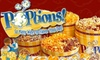 Poptions - St Louis: Gourmet-Popcorn Bags or Tins from POPtions! (Half Off)