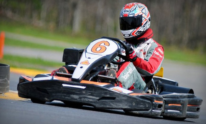 Summit Point Kart - Summit Point: One or Three High-Performance Go-Kart Rides at Summit Point Kart (Up to 53% Off)