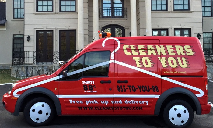 Cleaners to You - Washington DC: Dry Cleaning with Free Pickup and Delivery from Cleaners to You (83% Off). Two Options Available.