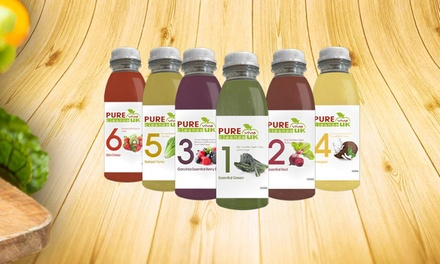 Juice Cleanse: Three, Five or Seven Days from £99 with Pure Viva Cleanse UK (Up to 40% Off)