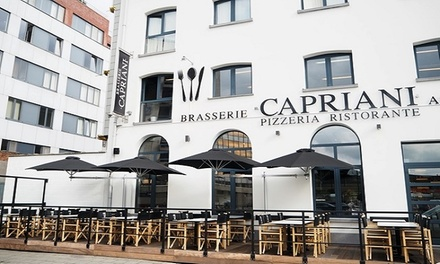 Lunch italien avec menu au choix chez Il Capriani à Anvers