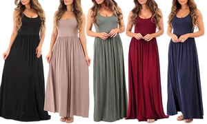 Women's Draped Maxi Dresses at Womens Long Ruched Dress, plus 6.0% Cash Back from Ebates.