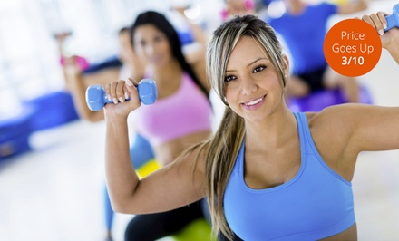 10 or 20 Fitness Classes at Fit by Tif (Up to 86% Off)