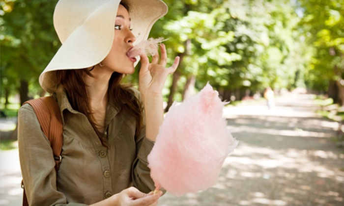 Cotton Pik'N Candy - San Francisco: 25 or 50 Bags of Cotton-Candy Catered and Delivered for Events from Cotton Pik'N Candy (Up to 62% Off)