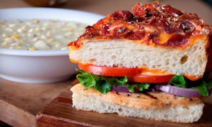 Atlanta Bread Company - Cantera: Artisan Sandwiches at Atlanta Bread Company (Half Off). Two Options Available.