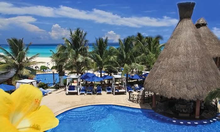 The Reef Playacar Resort and Spa - The Reef Playcar Resort and Spa: 4-, 5-, or 7-Night All-Inclusive Stay at The Reef Playacar Resort and Spa in Playa del Carmen. Includes Taxes and Fees.