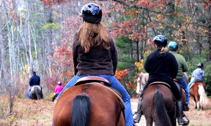Cornerstone Ranch - Princeton: Five-Day Horseback-Riding Camp in July or August, or a Trail Ride for One or Two at Cornerstone Ranch (Up to 54% Off)