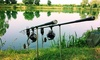 Pesca sportiva con attrezzatura