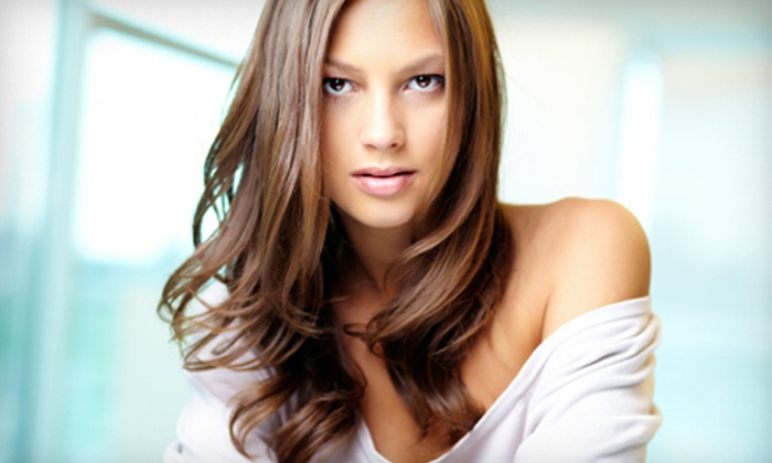 Hair by Kristina Ogren - Brooklyn Park - Maple Grove: $85 for a Haircut and Partial Highlights at Hair by Kristina Ogren ($135 Value)