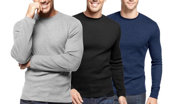 Men's Thermal Shirts (3-Pack)