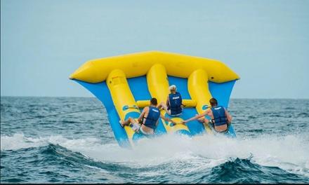 Actividad de banana acuática o flyfish para 1, 2 o 4 personas en Water Sports Tenerife (hasta 54% de descuento)