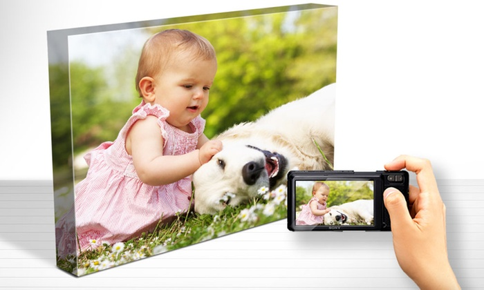 Canvas Photo Print from Printerpix USA (Up to 90% Off). 11 Options Available.