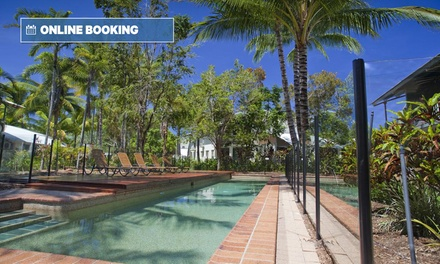 Trinity Beach, Queensland: Three- or Five-Night Tropical Break for Four with Amenity Pack at Marlin Cove Resort